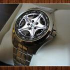 Limited edition apparel 1997 BMW Z3 M Roadster Rim Wheel Rare Sport Metal Watch