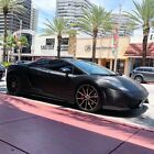 2004 Lamborghini Gallardo carbon LAMBORGHINI GALLARDO Black with Carbon Fiber Textured Wrap