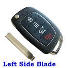 4 Button Remote Key Shell Case + Blade for Hyundai i10 i20 i30 i35 i40 Key Fob