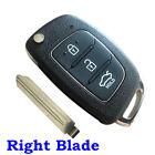 Keyless 3 Buttons Remote Key Fob Shell Case for 2013 2014 Hyundai ix45 Santa Fe