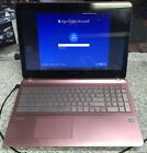 "Sony VAIO Model SVF152C29L 15.6"" Laptop Core i5 1.80GHz Win10 Touchscreen Pink"