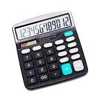 NEW Best Basic Office Calculator Standard Function Desktop 12 Digit Dual Powe...