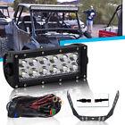 """CREE DOT 6"""" 36W work light led +Mounting bracket FOR ATV UTV Dirtbike"""