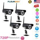 4x WiFi WLAN Wireleess 720P CCTV IP Camera Home Security IP66 Network Webcam USA