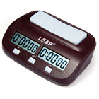 LEAP Digital Chess Clock I-go Count Up Down Timer Gaminng Competition Desk Clock