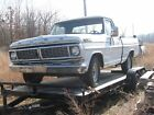 1971 Ford F-100 short bed pick up, 250 6 cyl. automatic, 2 wd, good parts truck
