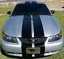 """EzInstall 9"""" Dual FX Racing Stripes, Fits Ford Mustang & GT 1999-2004, NEW"""
