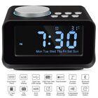 Keright Digital Alarm Clock Radio with Bluetooth Speaker, USB Charging, Snooze,