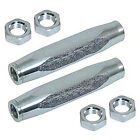 QA1 Hex Tube Tie Rod Sleeve 5/8-18in Thread GM B/F/X-Body 2 pc 5251