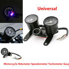 Motorcycle Odometer Speedometer Tachometer Gauge For Chopper Cafe Racer Accuracy