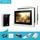 """HOMSECUR 7"""" Wired Video&Audio Home Intercom+Password Access for Home Security"""