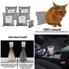 Air Purifying Bags, Car Pet Odor Eliminator. Natural Activated Moso Bamboo Cha
