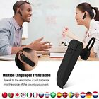 Auricurales Traductor Manos Libres De Idiomas Audifonos Electronico Portatil NEW