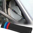Faux Leather Safety Seat Belt Cover Shoulder Pads for Vehicles Car LT3