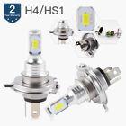 H4 9003 LED Headlight Bulbs For Arctic Cat Snowmobile M 8000 2014 2015 2016 2017