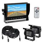 "Esky Dual Backup Cameras and 7"" TFT LCD Monitor System Kit for Waterproof Night"