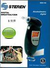 Steren Digital Breathalyzer includes batteries