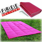 Camping Reversible Mat 6x9' Area Rug Trailer Patio Outdoor RV Accessories Awning