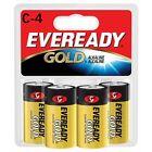 """Energizer Alkaline Battery """"C"""" Size 4/PK A93BP4"""