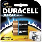 Procter & Gamble Lithium Photo Batteries 3V 2/PK Black DL123AB2PK