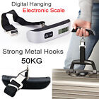 50 kg /110 lb Electronic Digital Portable Luggage Hanging Weight Scale - Pocket