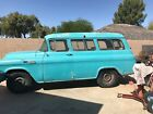1956 GMC suburan  1956 GMC SUBURBAN  4 speed factory auto transmission 4 original seats Barn doors