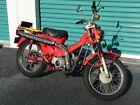 1975 Honda CT-90 motorcycle original 2 owner K-5 Trail 90  1975 CT-90   K-5 Honda Trail 90 original low miles  complete restored fuel sys.