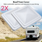 "2X 14""x 14"" Universal Replacement RV Roof Vent Cover Vent Lid for Camper Trailer"