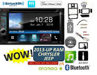 2013-UP CHRYSLER JEEP RAM Kenwood TOUCHSCREEN CD DVD WAZE BLUETOOTH Stereo