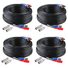 ANNKE 100 Feet 30 meters 2-In-1 Video/Power Cable with BNC Connectors and RCA