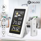 Digoo Wireless HD Color Screen USB Hygrometer Thermometer Forecast Sensor--