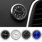 Car Mini Luminous Auto Air Clock Interior Quartz Analog Watch Decor--