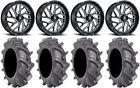 "Fuel Triton Black 22"" Wheels 37"" BKT AT 171 Tires Sportsman RZR Ranger"