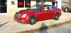 2009 Cadillac CTS CTS CTS-V STS SLS XTC SRX ETC 2009 CTS cts-v Candy red oyster interior loaded 20' Giovanni wheels loaded Trade