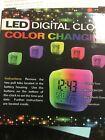LED Digital Alarm Clock Color Changing