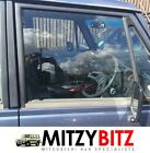 MITSUBISHI PAJERO SHOGUN MK1 OSF RIGHT FRONT DOOR WINDOW DROP GLASS