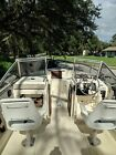 Hydra Sports 21' Fishing and Family Boat with Dual Axle Aluminum Trailer