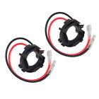 H7 For VW MK6 Golf 2.0T 10-14 LED Headlight Bulbs Adapter Retainer Socket Holder