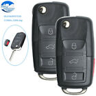 2 Flip Keyless Entry Remote Key Fob 4B 315MHz ID48 for Volkswagen HLO1K0959753H