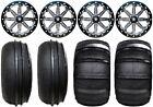 "MSA Lok 14"" UTV Wheels 28"" Sand Stripper/HP Tires Honda Pioneer 1000 / Talon"