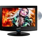 NEW Supersonic SC-1512 15in Class Widescreen LED HDTV with Built-in DVD Player