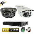 4CH All-in-1 DVR 5.0MP 4-in-1  2.8-12mm/ 9-22mm Zoom Lens Security Camera 98j63