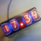 Nixie Clock IN-12 RGB Backlight  Assembled *Alarm , power from USB, 24h format*