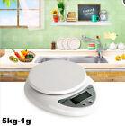 5kg 5000g X 1g Digital LCD Kitchen Scale Diet Food Compact  Weight Balance SU5