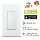 WIFI Smart Light Switch Timer Remote Control Wall Outlet For Alexa Google Assist