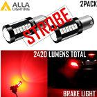 1157 STROBE RED Brake Light|Cornering Light|Parking Light Bulb|Tail Light Bulb