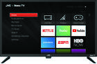 """JVC 32"""" Class HD (720p) With Roku  LED TV Brand New Free Shipping"""