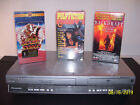 PANASONIC PV-D4745S-K VCR / DVD Combo Pulp Fiction Blazing Saddles Backdraft