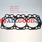 Head Gasket For New Holland TEREX Hyundai Dosan Hanix with Mitsubishi L3E Engine