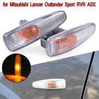 1 Pair Fender Turn Signal Lights For Mitsubishi Lancer Outlander Sport RVR ASX